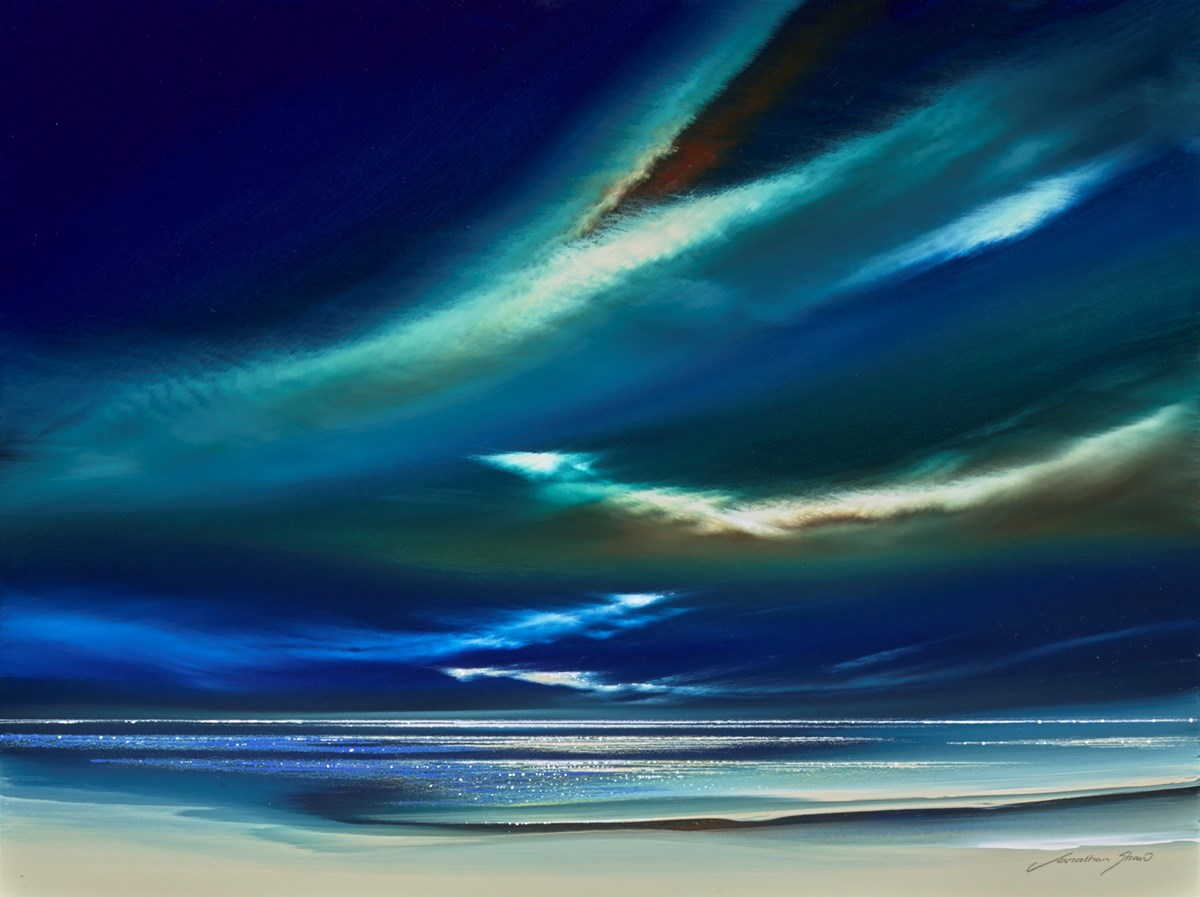 Tortoiseshell Skies II by jonathan shaw -  sized 24x18 inches. Available from Whitewall Galleries